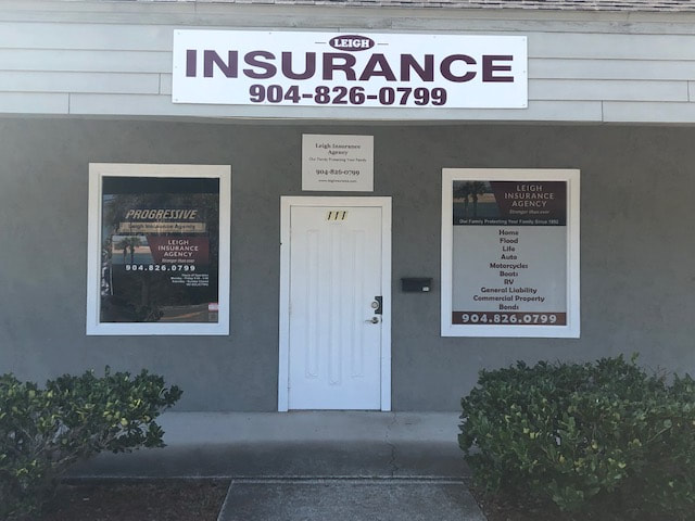 Front office of Leigh Insurance Agency - St Augustine, FL